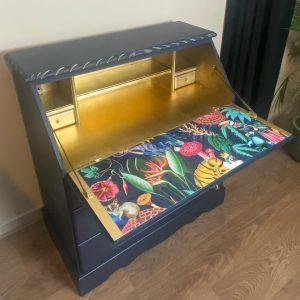 Upcycling a bureau by Paint Me Pretty